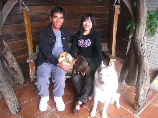 2011.3/5林小姐2人+1狗入住樹屋 相片來源:墾丁寵物民宿.哈CHEESE