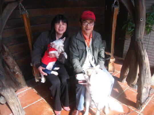 2011.3/9梁小姐2人+1狗入住樹屋 相片來源:墾丁寵物民宿.哈CHEESE