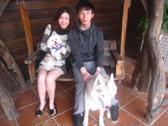 2011.3.11張先生2人+1狗入住船屋 相片來源:墾丁寵物民宿.哈CHEESE