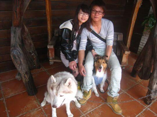 2011.3.12楊小姐2人+1狗入住船屋 相片來源:墾丁寵物民宿.哈CHEESE