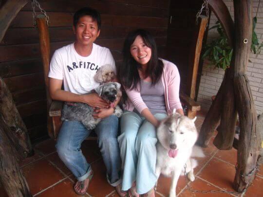 2011.3.11~3.12劉先生2人+2狗入住蛋屋 相片來源:墾丁寵物民宿.哈CHEESE