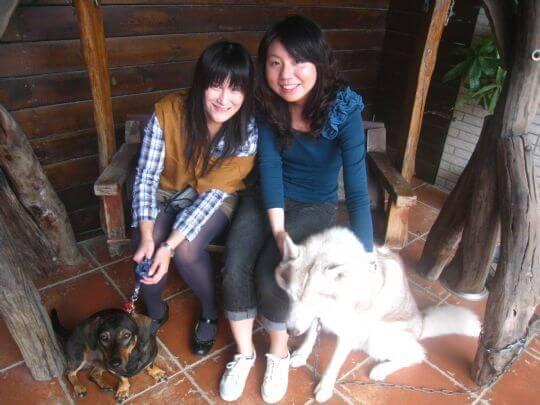 2011.3.18~19林小姐2人+1狗入住蛋屋 相片來源:墾丁寵物民宿.哈CHEESE