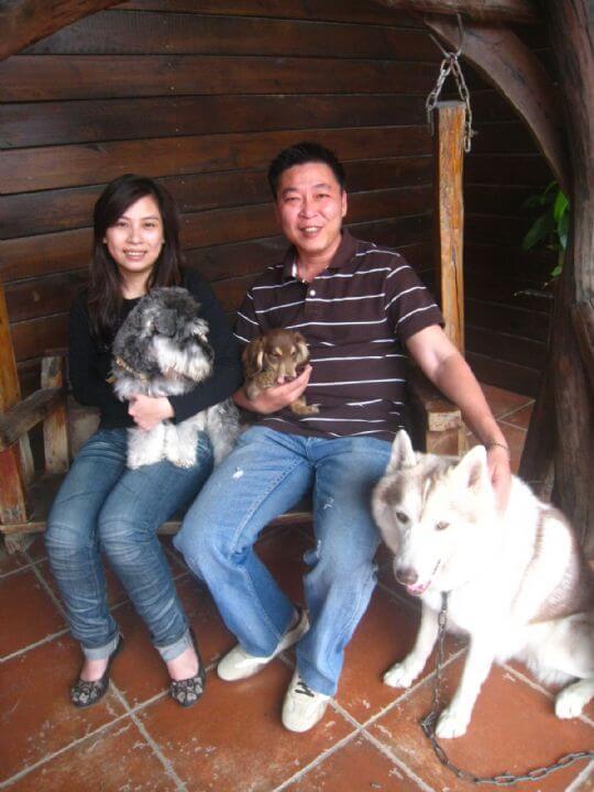 2011.3.25簡小姐2人+1狗入住船屋 相片來源:墾丁寵物民宿.哈CHEESE