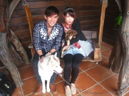 2011.3.26 yoyo2人入住蛋屋 相片來源:墾丁寵物民宿.哈CHEESE