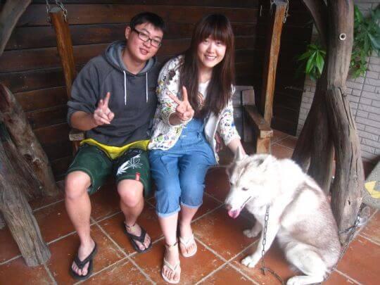 2011.3.30羅小姐2人+1狗入住船屋 相片來源:墾丁寵物民宿.哈CHEESE
