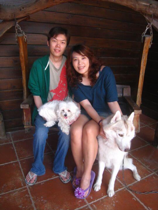 2011.4.1侯小姐2人+1狗入住船屋 相片來源:墾丁寵物民宿.哈CHEESE