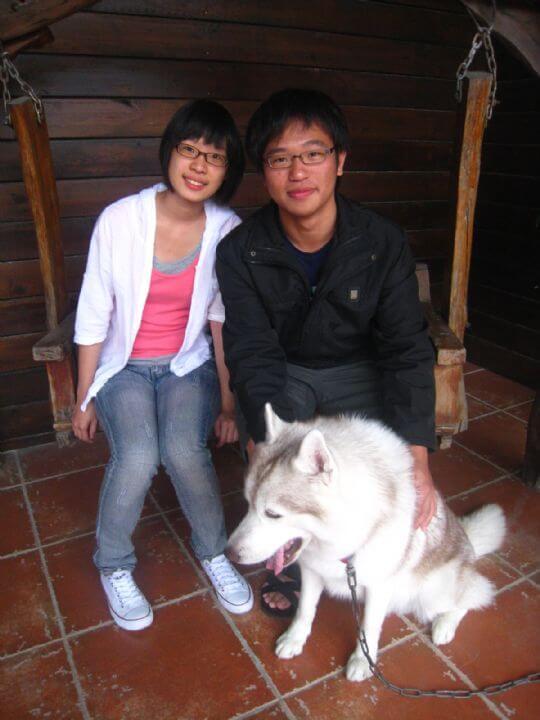 2011.4.1陳先生2人+1兔入住蛋屋 相片來源:墾丁寵物民宿.哈CHEESE