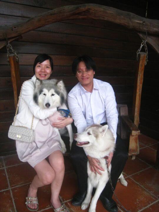 2011.4.1陳小姐2人+1狗入住樹屋 相片來源:墾丁寵物民宿.哈CHEESE
