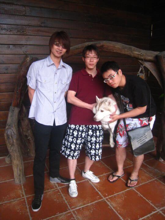 2011.4.2陳先生3人入住通鋪 相片來源:墾丁寵物民宿.哈CHEESE