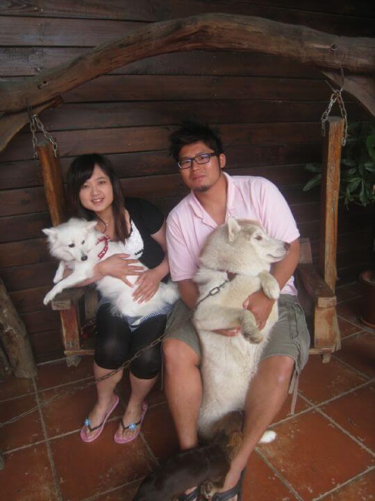 2011.4/21~22吳小姐+1狗入住船屋和樹屋 相片來源:墾丁寵物民宿.哈CHEESE