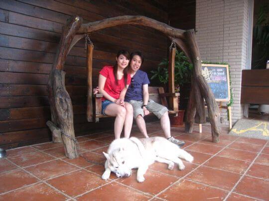 2011.4/23香港客人2人入住蛋屋 相片來源:墾丁寵物民宿.哈CHEESE