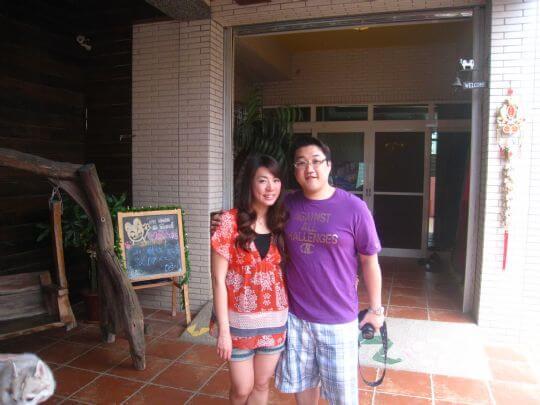 2011.4/23香港客人2人入住船屋 相片來源:墾丁寵物民宿.哈CHEESE