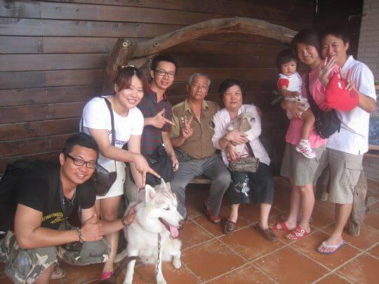 2011.4/30黃小姐7人+1狗入住通鋪 相片來源:墾丁寵物民宿.哈CHEESE
