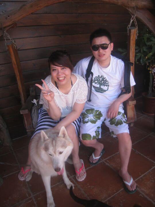 2011.5/3吳小姐2人入住樹屋 相片來源:墾丁寵物民宿.哈CHEESE