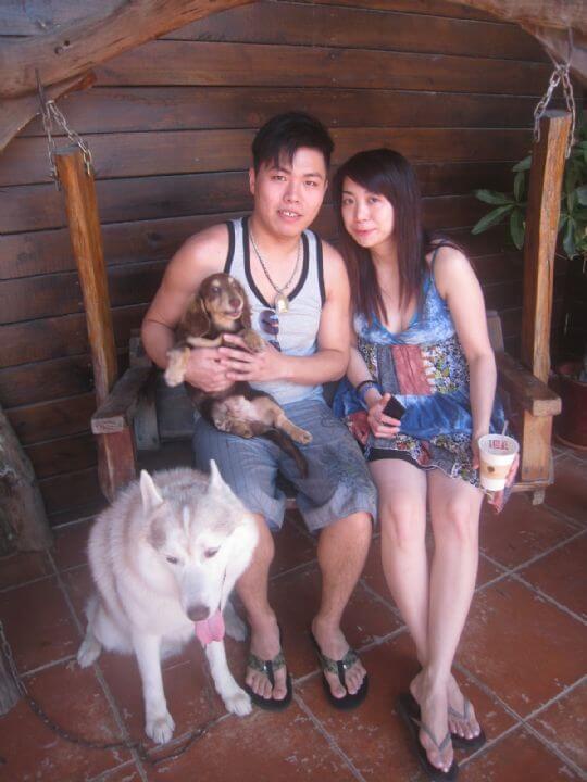 2011.5/3吳小姐朋友2人入住船屋 相片來源:墾丁寵物民宿.哈CHEESE