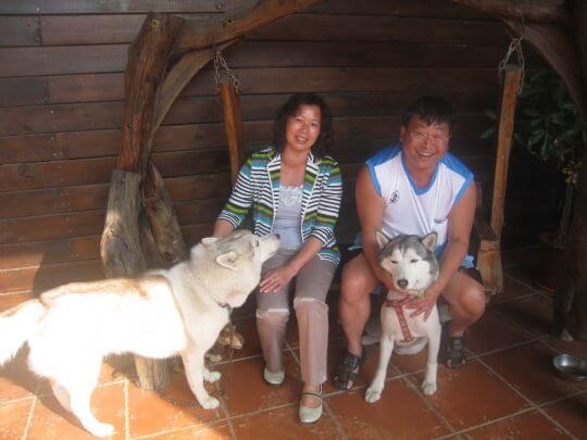 2011.5/5葉小姐2人+1狗入住蛋屋 相片來源:墾丁寵物民宿.哈CHEESE