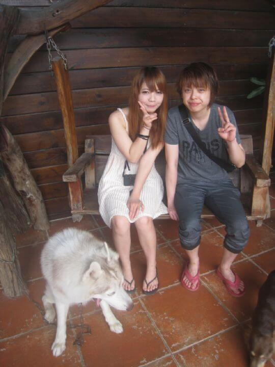 2011.5/5劉小姐2人入住船屋 相片來源:墾丁寵物民宿.哈CHEESE