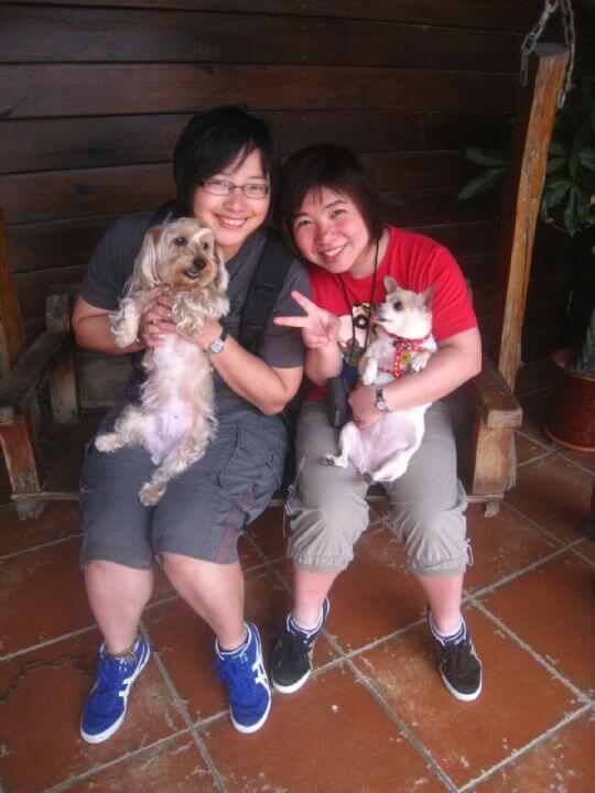 2011.5/6~5/8林小姐2人+2狗入住樹屋、船屋 相片來源:墾丁寵物民宿.哈CHEESE