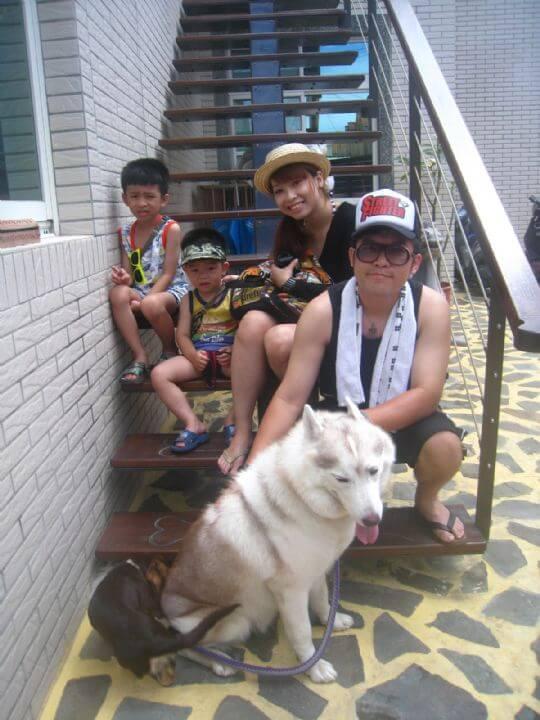 2011.5/14張小姐4人入住樹屋 相片來源:墾丁寵物民宿.哈CHEESE