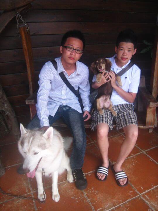 2011.5/14~15張先生3人+1狗入住通鋪 相片來源:墾丁寵物民宿.哈CHEESE