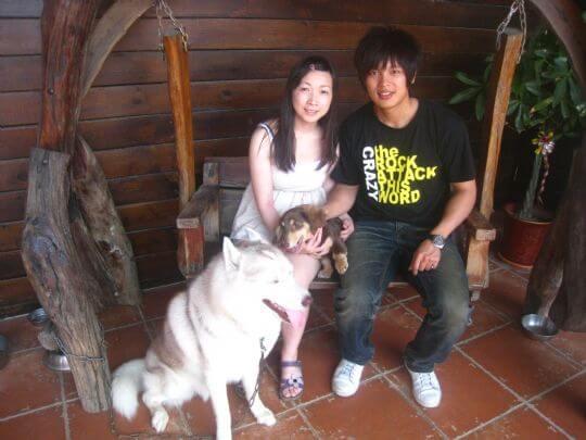 2011.5/15楊先生2人入住蛋屋 相片來源:墾丁寵物民宿.哈CHEESE