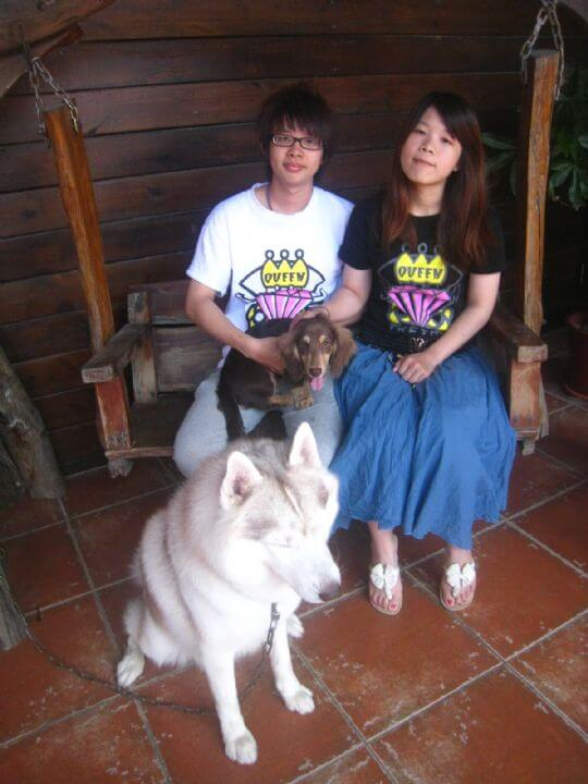 2011.5/15賴先生2人入住船屋 相片來源:墾丁寵物民宿.哈CHEESE