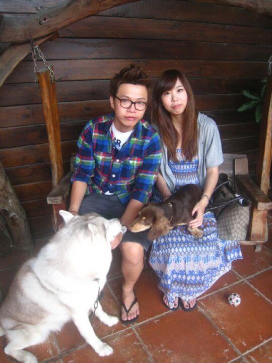 2011.5.17黃小姐2人入住船屋 相片來源:墾丁寵物民宿.哈CHEESE