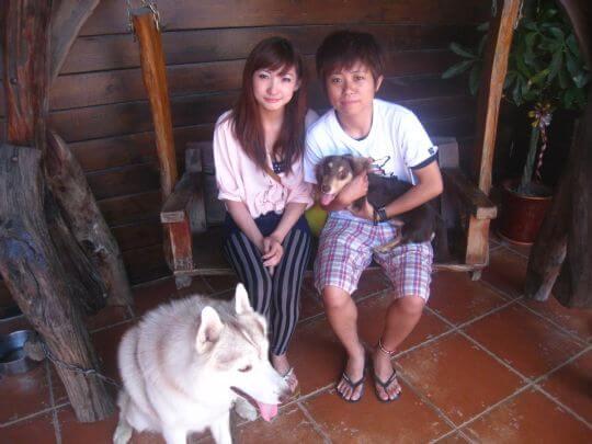 2011.5/23~24許小姐2人入住樹屋 相片來源:墾丁寵物民宿.哈CHEESE