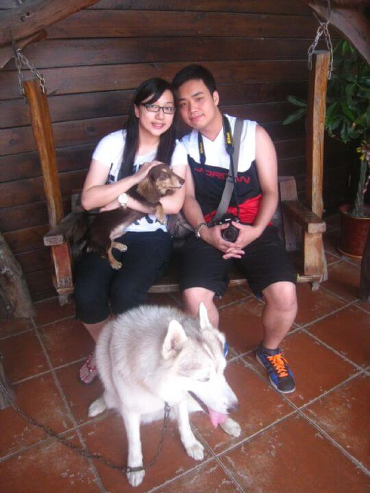 2011.5/24~25蘇小姐2人入住船屋和蛋屋 相片來源:墾丁寵物民宿.哈CHEESE