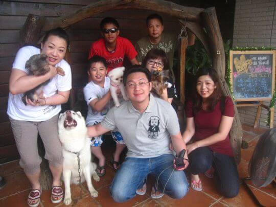 2011.5/27林小姐7人+1狗入住通鋪 相片來源:墾丁寵物民宿.哈CHEESE