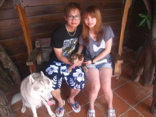 2011.6/5陳先生2人入住蛋屋 相片來源:墾丁寵物民宿.哈CHEESE