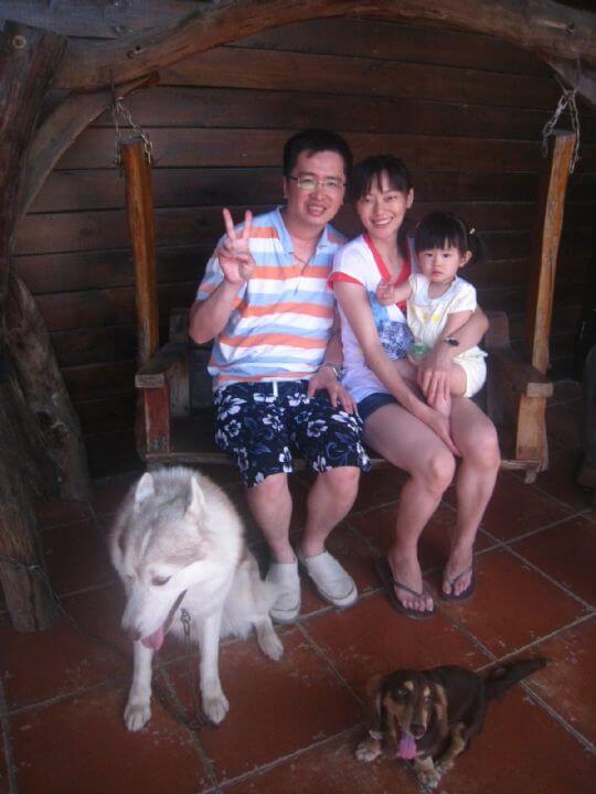2011.6/5~6陳小姐3人入住樹屋和蛋屋 相片來源:墾丁寵物民宿.哈CHEESE