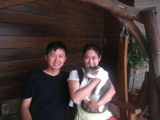 2011.6/7~9聶先生2人入住蛋屋和船屋 相片來源:墾丁寵物民宿.哈CHEESE