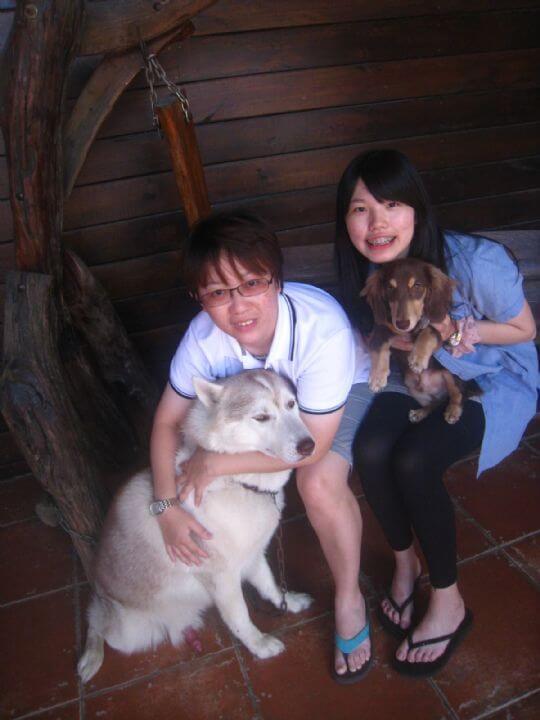 2011.6/11陳小姐2人入住通鋪 相片來源:墾丁寵物民宿.哈CHEESE