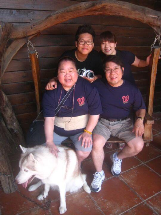 2011.6/18洪小姐4人+1貓入住通鋪 相片來源:墾丁寵物民宿.哈CHEESE