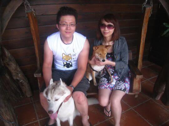 2011.6/20吳小姐4人+2狗入住樹屋和船屋 相片來源:墾丁寵物民宿.哈CHEESE