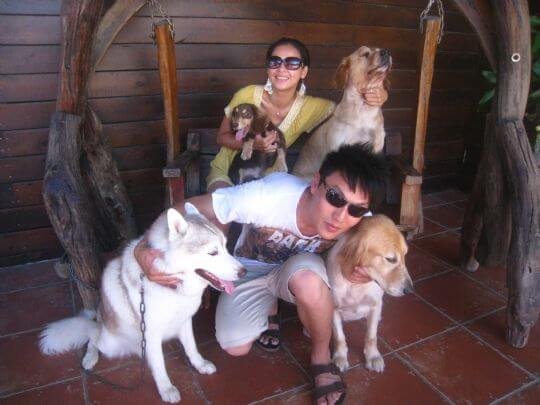 2011.6/21~22朱小姐2人+2狗入住通鋪 相片來源:墾丁寵物民宿.哈CHEESE
