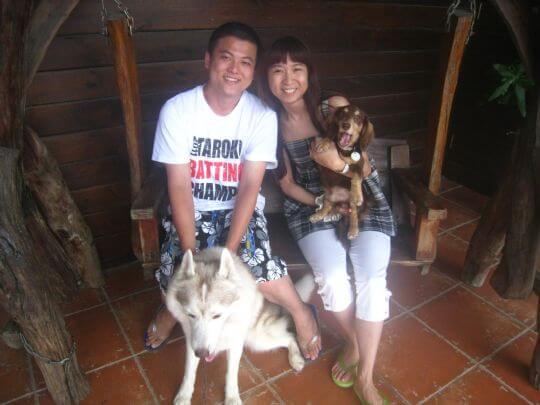 2011.6/20~23謝先生2人入住蛋屋和船屋 相片來源:墾丁寵物民宿.哈CHEESE
