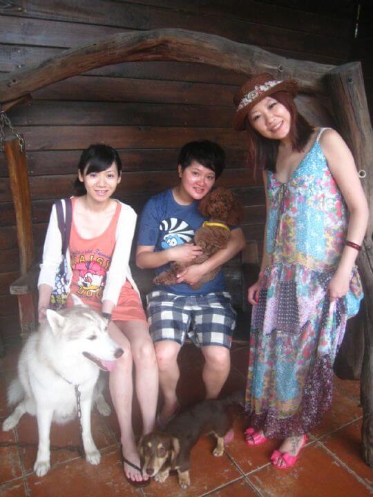 2011.6/26陳小姐3人+1狗入住通鋪 相片來源:墾丁寵物民宿.哈CHEESE