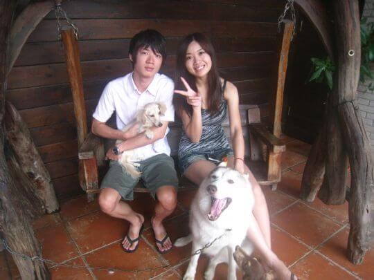 2011.6/27陳小姐2人+1狗入住樹屋 相片來源:墾丁寵物民宿.哈CHEESE
