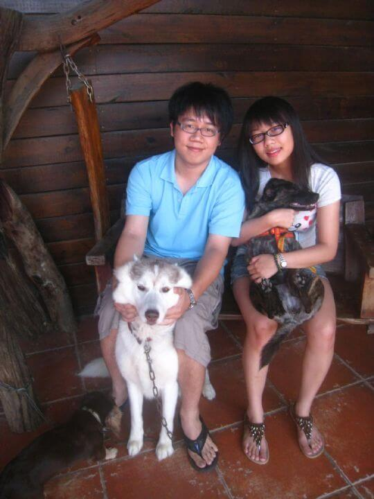 2011.6/29張小姐2人+1狗入住樹屋 相片來源:墾丁寵物民宿.哈CHEESE