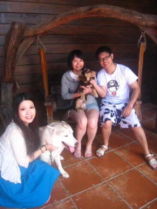 2011.7/3孟如朋友3人入住通鋪 相片來源:墾丁寵物民宿.哈CHEESE