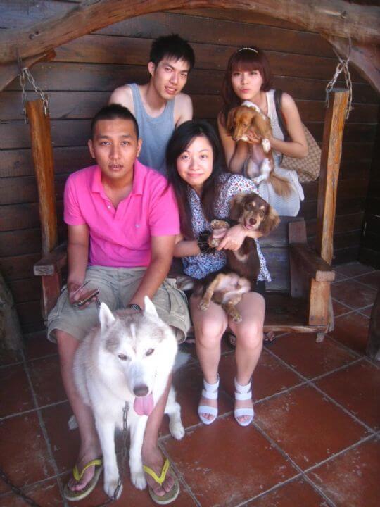 2011.7/3邱小姐4人+2狗入住船屋和樹屋 相片來源:墾丁寵物民宿.哈CHEESE