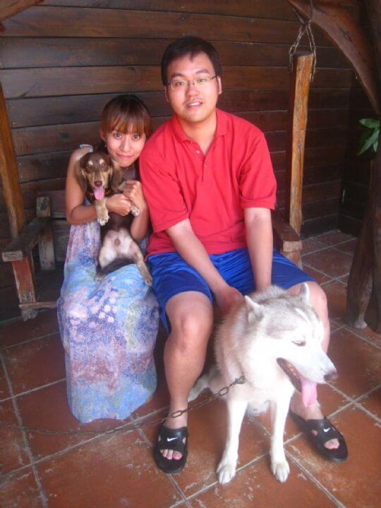2011.7/5博仁2人入住樹屋 相片來源:墾丁寵物民宿.哈CHEESE