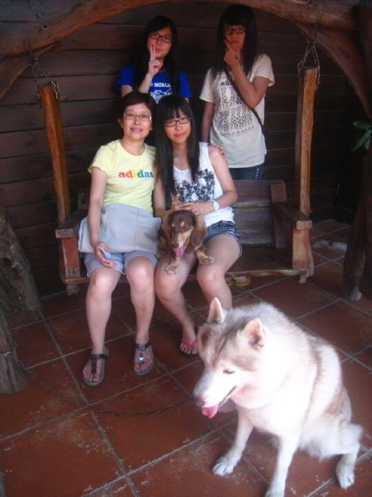 2011.7/6林小姐5人入住船屋和樹屋 相片來源:墾丁寵物民宿.哈CHEESE