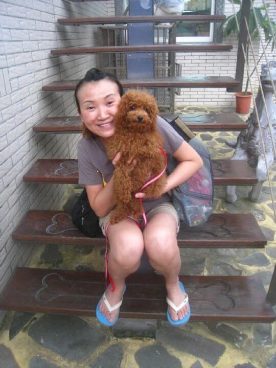 2011.7/8高小姐2人+1狗入住船屋 相片來源:墾丁寵物民宿.哈CHEESE