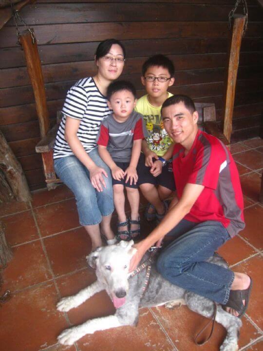 2011.7/8黃小姐2人+1狗入住通鋪 相片來源:墾丁寵物民宿.哈CHEESE