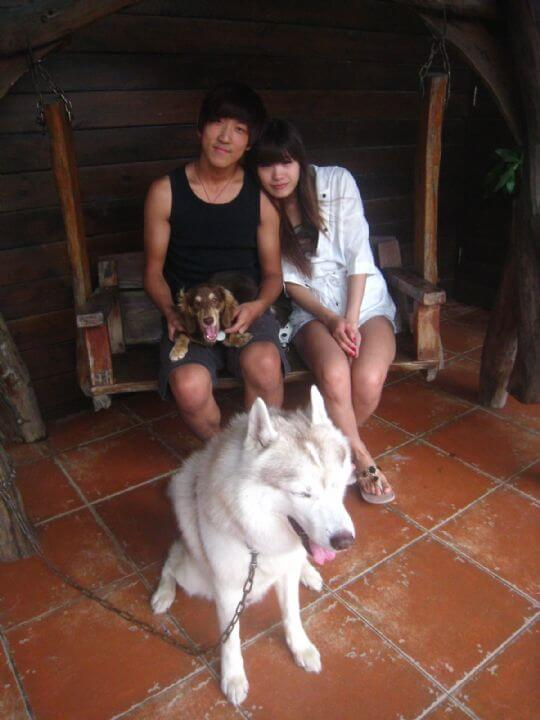 2011.7/12鐘小姐4人入住蛋屋和樹屋 相片來源:墾丁寵物民宿.哈CHEESE