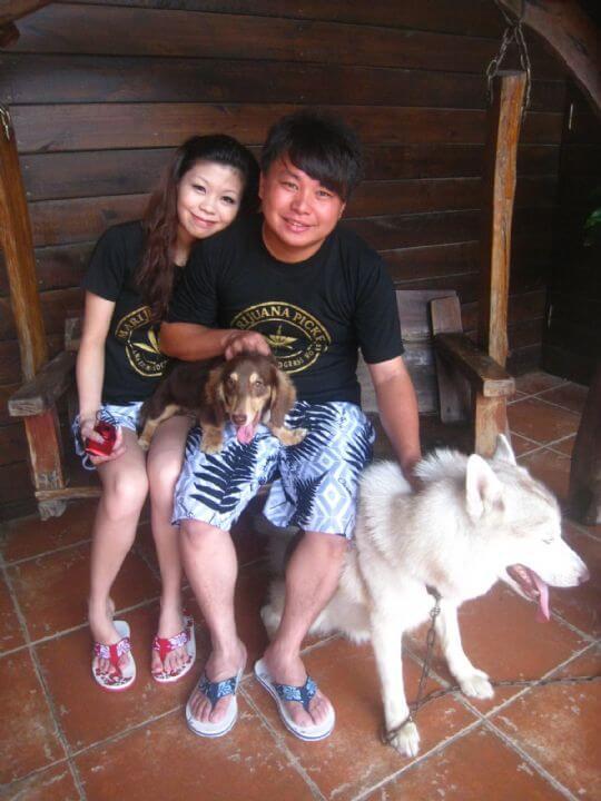 2011.7/14~15王小姐2人+2狗入住船屋和蛋屋 相片來源:墾丁寵物民宿.哈CHEESE