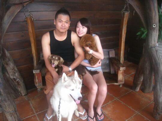 2011.7/17林小姐4人+1狗入住船屋和樹屋 相片來源:墾丁寵物民宿.哈CHEESE